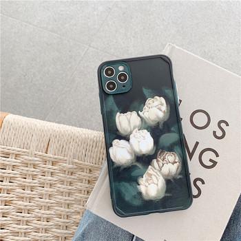 Калъф за Iphone 11 Pro Max с лалета