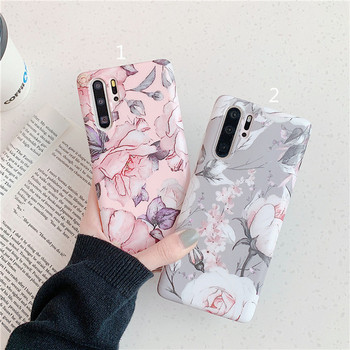 Силиконов калъф за Samsung Note 10 с цветя - два модела
