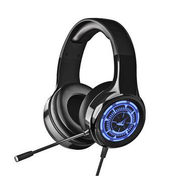 Компютърни слушалки с микрофон ,кабел и  USB кабел 3.5 мм