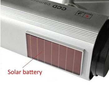 Камера за видео наблюдение със слънчева мощност LED