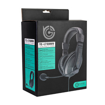 TUCCI геймърски слушалки с микрофон