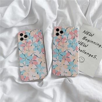 Силиконов калъф за  Iphone 11 Pro Max с цветя