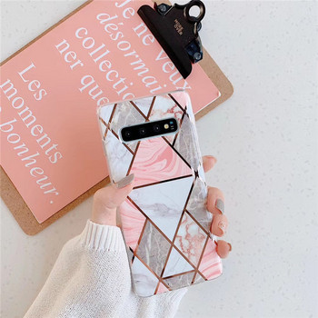 Калъф за Samsung S10  с геометрични фигури