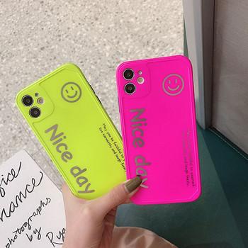 Неонов калъф с надпис за  Iphone 11