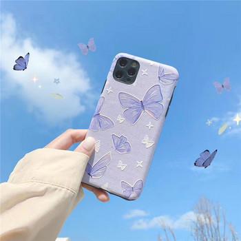 Калъф за iPhone 11 Pro Max  с пеперуди