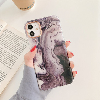 Калъф за Iphone 11 с мраморен ефект
