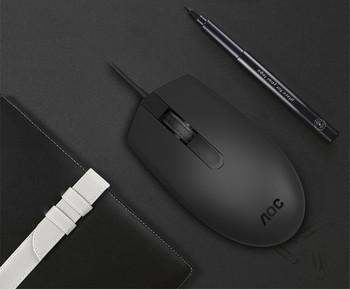 AOC Кабелна USB мишка за настолен и преносим компютър