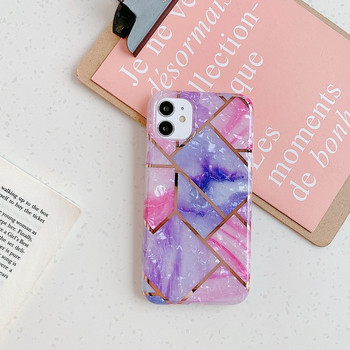 Многоцветен калъф за Iphone 11 с мраморен ефект
