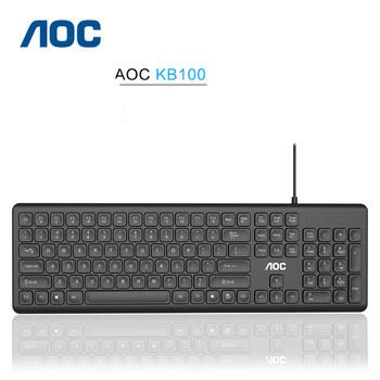 AOC кабелна клавиатура за дома и офиса