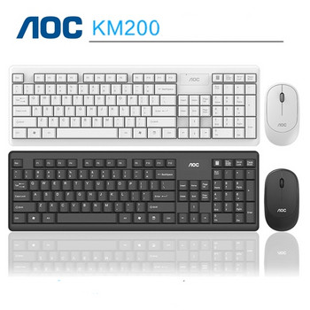 AOC KM200 безжична клавиатура и мишка