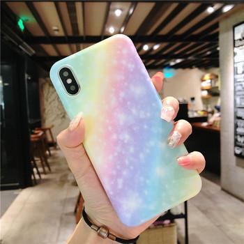 Цветен калъф за iPhone X/XS