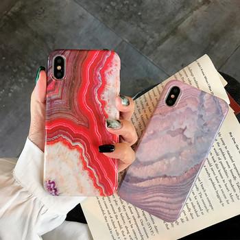 Мраморен калъф за iPhone X/XS