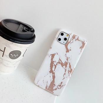 Калъф за iPhone 11 Pro Max с  мраморен  ефект