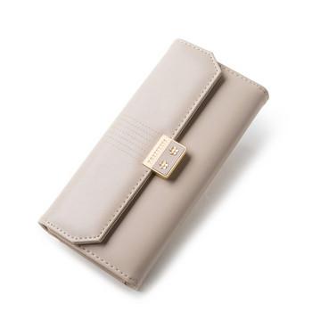 Έκο δερμάτινο πορτοφόλι από έκο δέρμα  με μεταλλική στερέωση