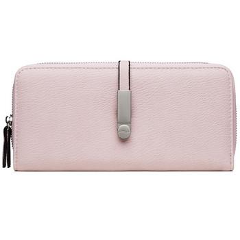 Γυναικείο πορτοφόλι με φερμουάρ - οικολογικό δέρμα