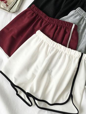 Спортно-ежедневни къси панталони с еластична талия