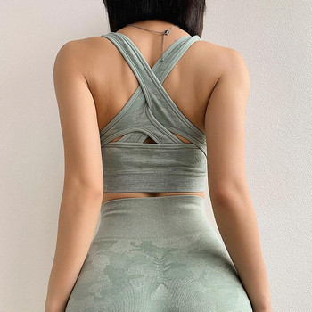Дамски камуфлажен еластичен  клин с висока талия