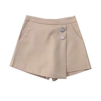 Модерна дамска пола-панталон -с прехвърляне