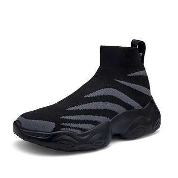 Ανδρικά αθλητικά παπούτσια κάλτσα με τραχιά σόλα