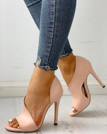 ΝΕΟ μοντέλο γυναικεία παπούτσια ψηλοτάκουνα με άνιμαλ πριντ