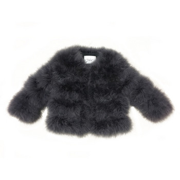 Модерно есенно-зимно палто от пух